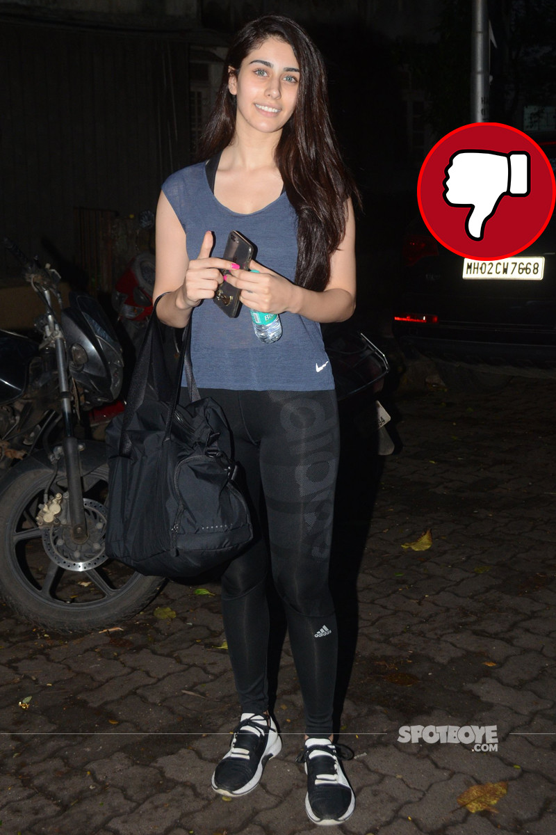 warina hussain snapped post workout session