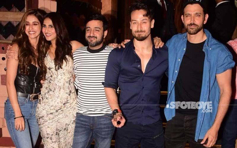 WAR Success Bash: Hrithik Roshan, Tiger Shroff, Vaani Kapoor Have A Gala Time As Disha Patani Joins In To Celebrate The Massive Hit