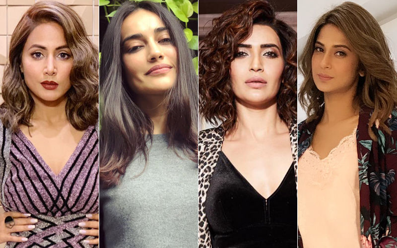 Hina Khan, Surbhi Jyoti, Karishma Tanna And Jennifer Winget Are Short On S'tress'