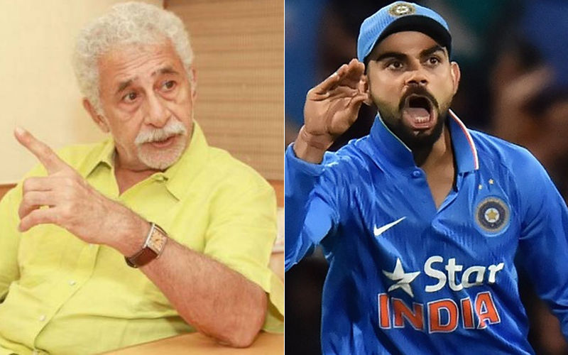 Naseeruddin Shah Lashes Out At Virat Kohli For Misbehaviour On Field