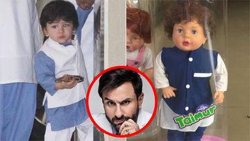 Taimur Ali Khan's Doll Goes Viral; Saif Ali Khan Reacts