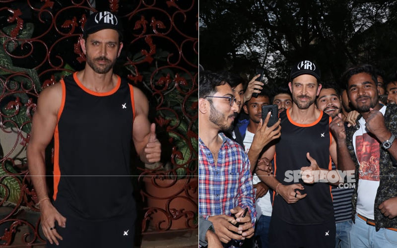 Hrithik Roshan Is All Smiles As He Celebrates Birthday With Fans