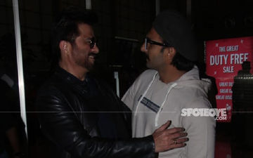 Ranveer Singh-Anil Kapoor's Warm Camaraderie And Infectious Energy At The Airport Can't Be Missed