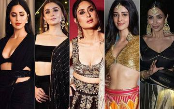 Diwali 2018: Katrina Kaif, Alia Bhatt, Kareena Kapoor Khan, Ananya Panday And Malaika Arora Rock Festive Looks