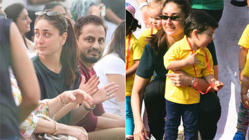 Taimur Bags A Medal On Sports Day, Kareena Kapoor Khan Cheers Him On – More Pictures Inside