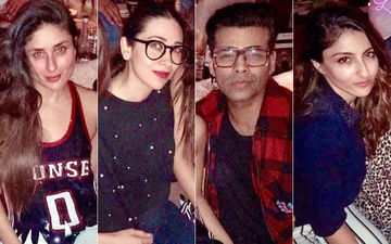 Kareena Kapoor Khan Parties Hard With Her Regular Troop Of Karisma Kapoor, Karan Johar, Soha Ali Khan