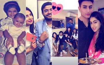 Raksha Bandhan 2018: Deepika Padukone, Priyanka Chopra, Janhvi Kapoor, Abhishek Bachchan, Sara Ali Khan, Neha Dhupia Drenched In Festivities