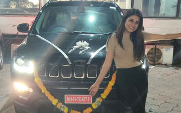 Bhumika Gurung Gifts Herself A Sexy Set Of Wheels