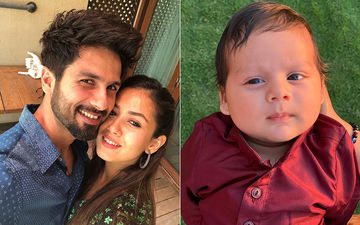 We Have Lost Our Heart To The First Close-Up Of Shahid Kapoor And Mira Rajput's Little Boy, Zain
