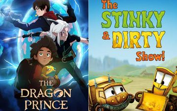 The Dragon Prince, The Stinky & Dirty Show And Other Series Your Kids Can JUST BINGE While You Work From Home