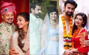 Celebs Who Got Married In 2019: Mohena Kumari Singh-Suyesh Rawat, Rajeev Sen-Charu Asopa, Nawab Shah-Pooja Batra