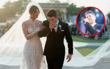 Nick Jonas Performed Live For Wifey Priyanka Chopra At Their Wedding Reception And The Video Is Totally Adorbs