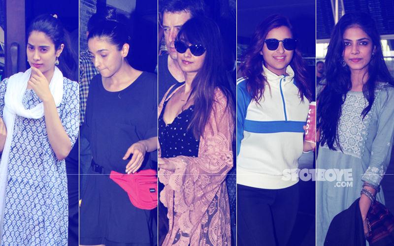 STUNNER OR BUMMER: Janhvi Kapoor, Alia Bhatt, Ileana D'Cruz, Parineeti Chopra Or Malavika Mohanan?