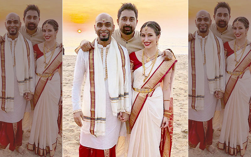 It's A Beach Wedding For Raghu Ram And Natalie Di Luccio - View First Picture