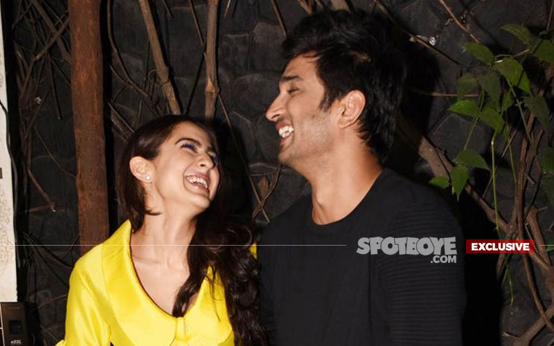 What's Cooking Between Sushant Singh Rajput And Sara Ali Khan?