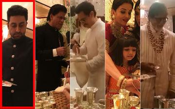 Why Were Shah Rukh Khan-Aamir Khan And Bachchans Serving Food At Isha Ambani's Wedding? Abhishek Has The Answer