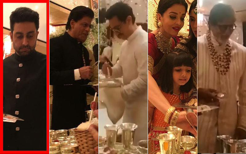 Why Were Shah Rukh Khan-Aamir Khan And Bachchans Serving Food At Isha Ambani's Wedding? Abhishek Has The Answer