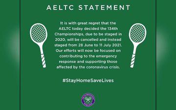 Wimbledon 2020 'Officially Cancelled' Due To Coronavirus Pandemic First Time Since World War II