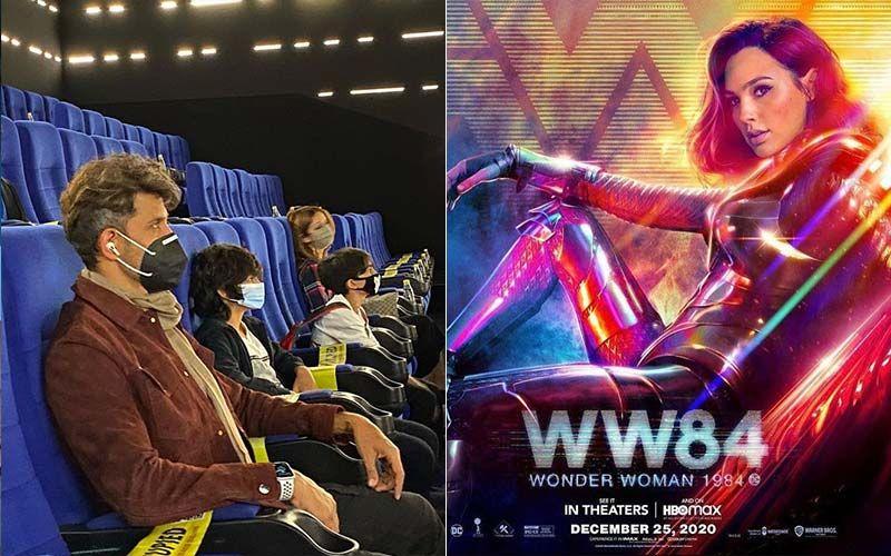 Hrithik Roshan, Sussanne Khan And Kids Watch 'Wonder Woman 84' In Cinemas, Actor Heaps Praises On Gal Gadot; Here's How The 'Wonder Woman' Replied
