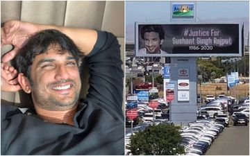 Sushant Singh Rajput's Fans Trend #WorldForSushant After Sister Shweta Shares A Video Of A Billboard Seeking Justice For SSR Put Up In California
