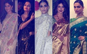 WORST Saree Looks By Katrina, Aishwarya, Sonam, Priyanka & Deepika- DO NOT REPEAT!