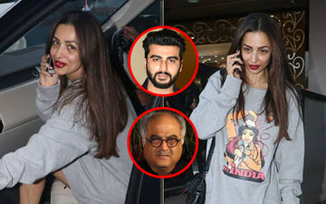 Wouldn't Arjun Kapoor's Father Boney Kapoor Love This Malaika Arora's T-Shirt Dress?