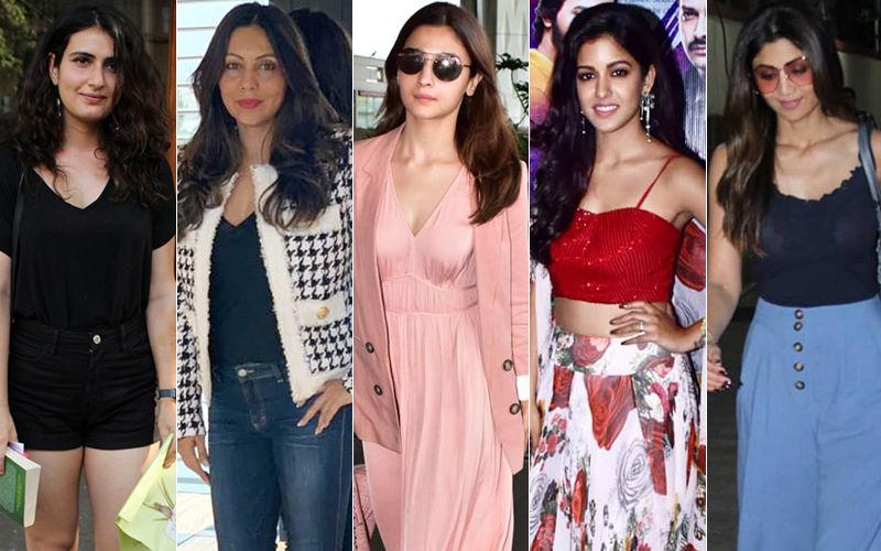 STUNNER OR BUMMER: Fatima Sana Shaikh, Gauri Khan, Alia Bhatt, Ishita Dutta Or Shilpa Shetty?
