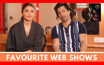 Just Binge: Varun Dhawan And Anushka Sharma Reveal Their Favourite Web Shows