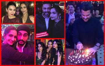 Malaika-Arjun, Janhvi-Khushi, Sonam-Anand, Karisma Kapoor Attend Anil Kapoor's Birthday Party – Inside Pics And Videos