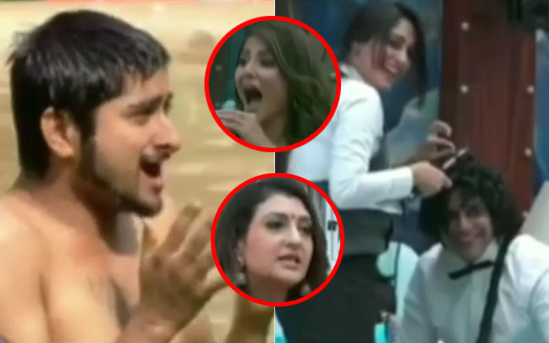 Bigg Boss 12: Karanvir Bohra Curls His Hair, Deepak Thakur Jumps Into The Swimming Pool