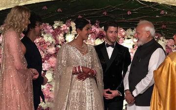Here Comes PM Modi To Wish Priyanka Chopra At Her Delhi Wedding Reception- Watch Video