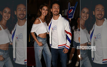 Tiger Shroff-Disha Patani Display Their Cute Chemistry During Song Promotion