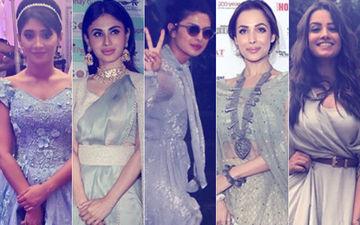 Shivangi Joshi, Mouni Roy, Priyanka Chopra, Malaika Arora & Anita Hassanandani Don't Mind 'Grey'ing!