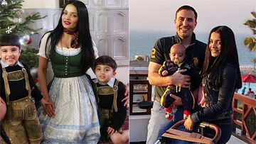 Happy Birthday, Celina Jaitly: 5 Pictures Of The Former Miss India With Her Little Munchkins