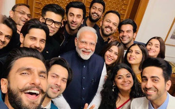 Ranveer Singh, Alia Bhatt, Ranbir Kapoor, Vicky Kaushal, Varun Dhawan Meet PM Modi; Selfie Toh Banti Hai!