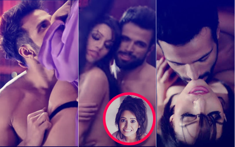 XXX Uncensored Trailer: Rithvik Dhanjani's Girlfriend Asha Negi Reacts To His Steamy Sex Scenes