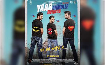 Yaar Anmulle Returns First Look : Batman, Spiderman and Superman Feat On Film's Swaggy AF Poster