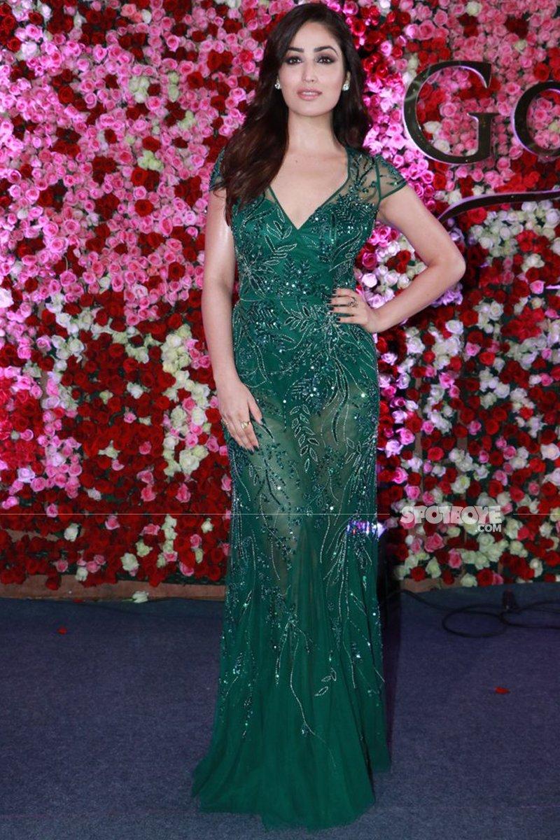 yami gautam at lux golden rose awards