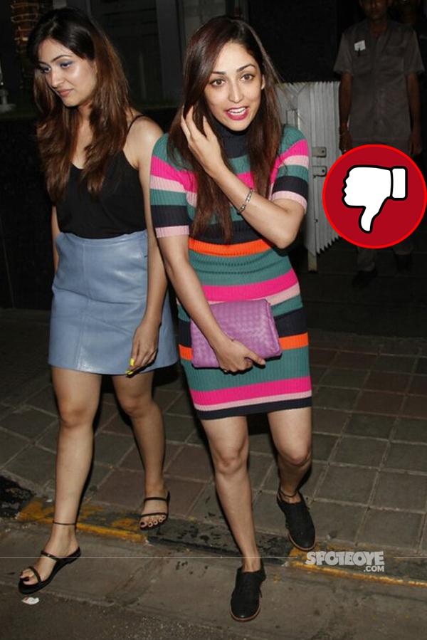 yami gautam spotted wih a friend