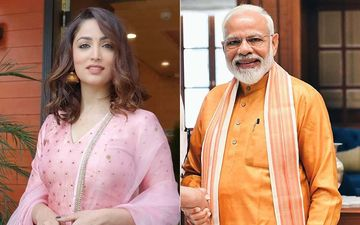 Yami Gautam Welcomes Prime Minister Narendra Modi At The Rising Himachal Event In Dharamshala