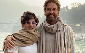 Gerard Butler Welcomes 2020 In Rishikesh, Varanasi And Himalayas; Actor Enjoys The Bylanes Of Varanasi- VIDEO