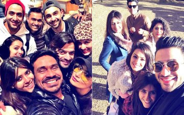 Pictures & Videos: Divyanka Tripathi, Karan Patel, Anita Hassanandani Go Crazy In London