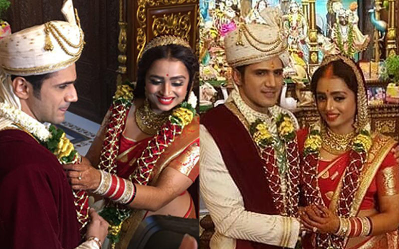 टीवी शो 'ये रिश्ता क्या कहलाता है' की एक्ट्रेस पारुल चौहान ने रचाई शादी, तस्वीरें आई सामने