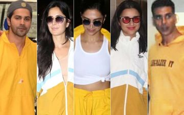 Yellow Is The Flavour Of The City: Deepika Padukone, Katrina Kaif, Akshay Kumar, Varun Dhawan, Parineeti Chopra Rock The Bright Colour And How!