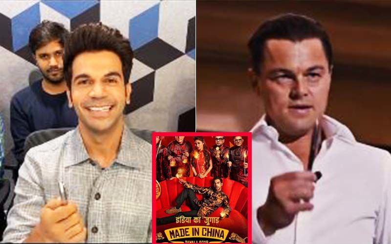 Made In China: Rajkummar Rao Sells A Pen To Leonardo DiCaprio; Aces The Wolf Of Wall Street Challenge, Internet Hails His Marketing Genius- VIDEO