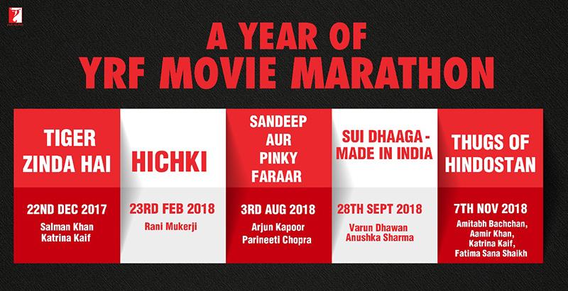 yrf movie marathon