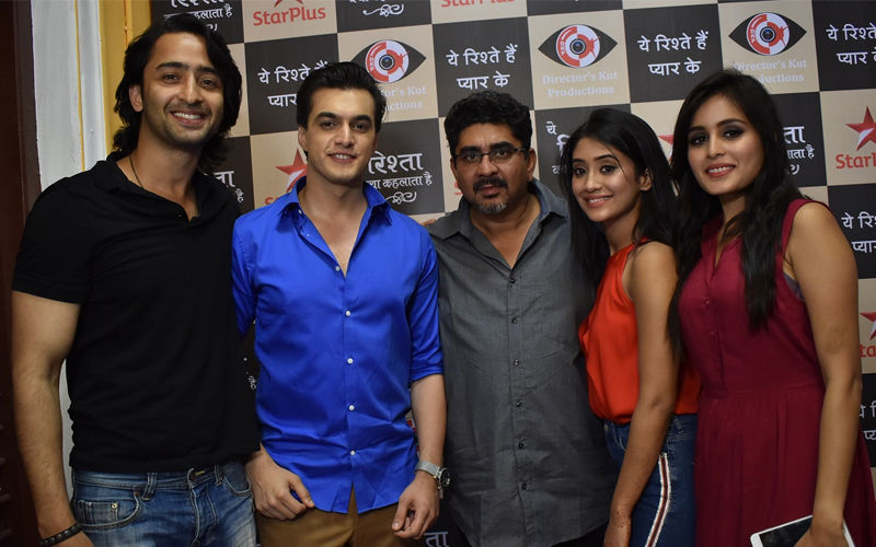 Yeh Rishtey Hain Pyaar Ke Launch Party: Shaheer Sheikh-Rhea Sharma, Shivangi Joshi-Mohsin Khan Rock The Event