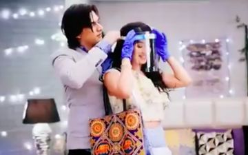 Yeh Rishta Kya Kehlata Hai: Shivangi Joshi And Mohsin Khan Starrer's COVID-19 Track Sees Kartik And Naira Wearing Masks And Face Shields On The Show