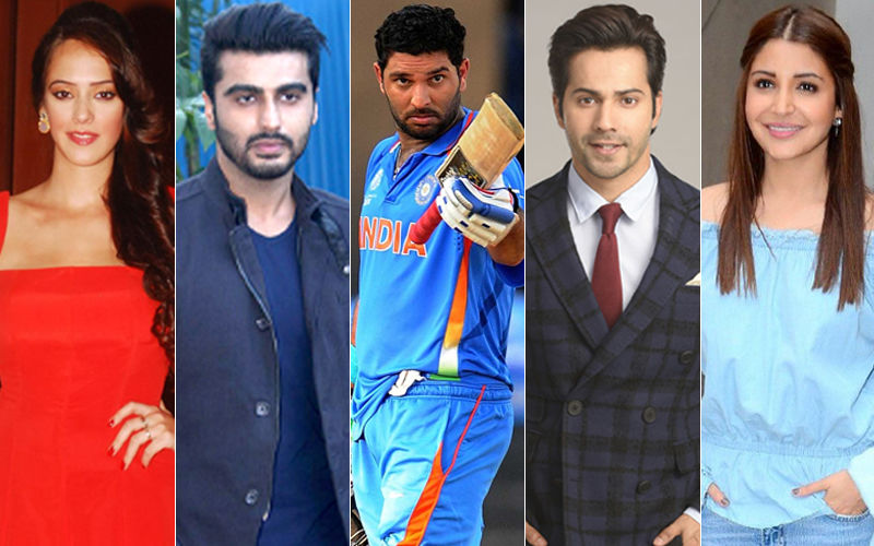 Yuvraj Singh Retirement: Hazel Keech, Arjun Kapoor, Varun Dhawan, Anushka Sharma Express Their Heartfelt Wishes