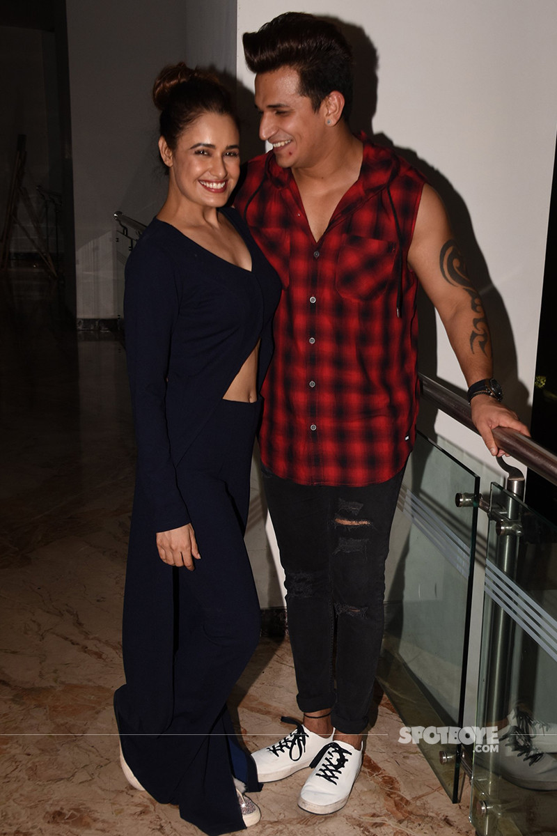 yuvika chaudhary and prince narula are all smiles